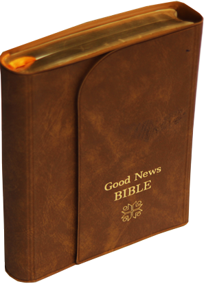 Good-news-Bible-avec pochette bordure doré 7000