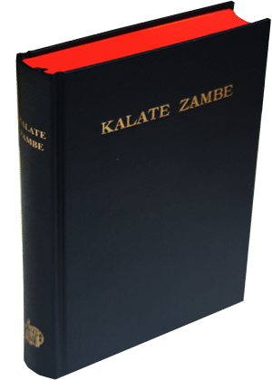 Kalate-Zambe- bible bulu cover doré cover dure 5500