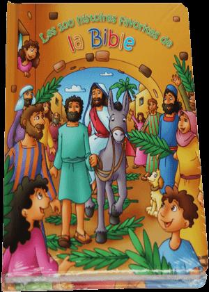 Les-100-histoires-favorites-de-la-Bible-Bible avec illustration 2500