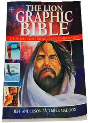 The-lion-graphic-la bible en bd avec illustration pour les ados et preado-3000